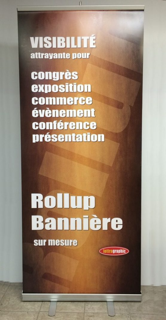 roll-up production affichage imprimerie