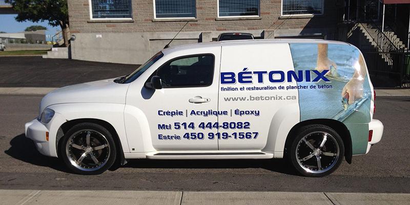 Bétonix camion