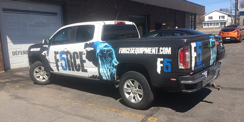 Force 5 camion