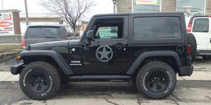 Jeep armé
